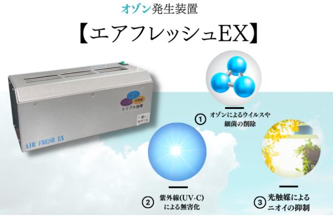 エアフレッシュEXの説明画像