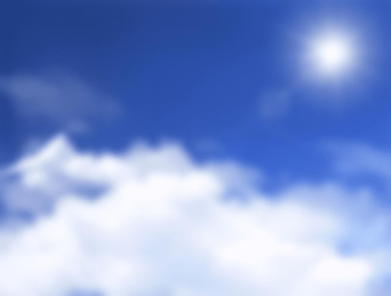 太陽のイメージ図