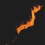 燃える日本