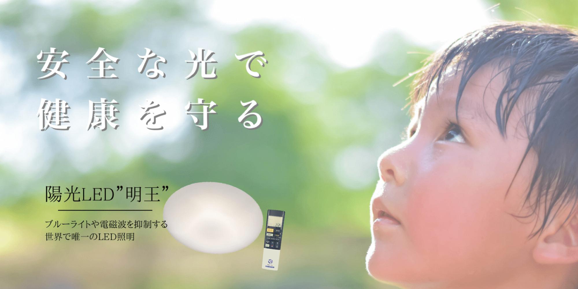 陽光LED「明王」のイメージ画像
